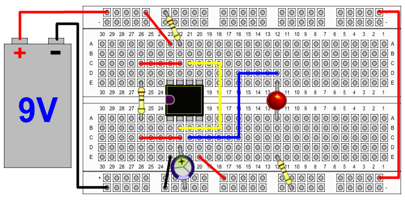 555 Timer circuit in Astable mode - xoftc com